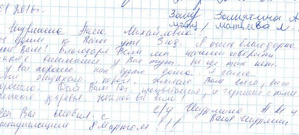 .01.2016 От Шурминой Анны Михайловны.