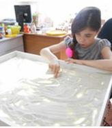 рисуем на песке